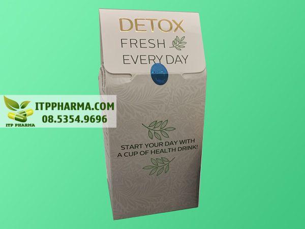Bao bì trà hoa giải độc Detox Fresh Every Day