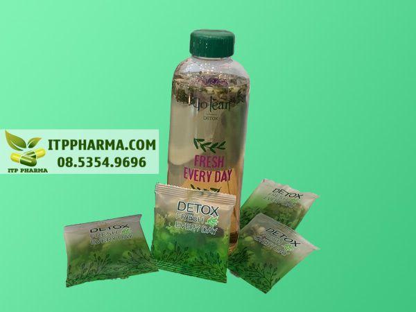 Hình ảnh trà hoa giải độc Detox Fresh Every Day
