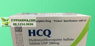 Thuốc HCQ chứa hoạt chất Hydroxychloroquin