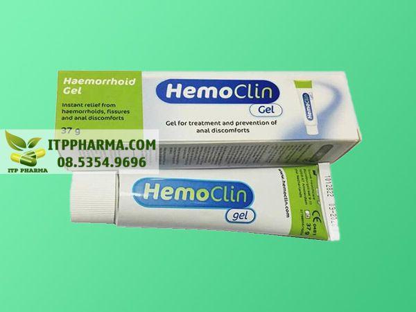 Thuốc Hemoclin Gel dành cho người bệnh trĩ