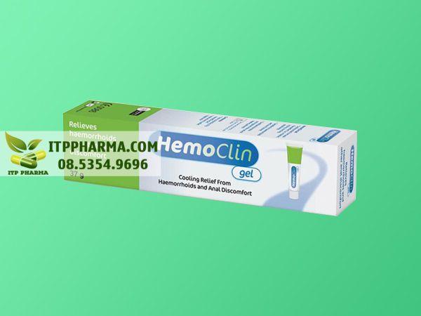 Hình ảnh Hemoclin gel dạng hộp