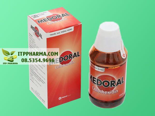 Thuốc súc miệng Medoral giúp sát khuẩn