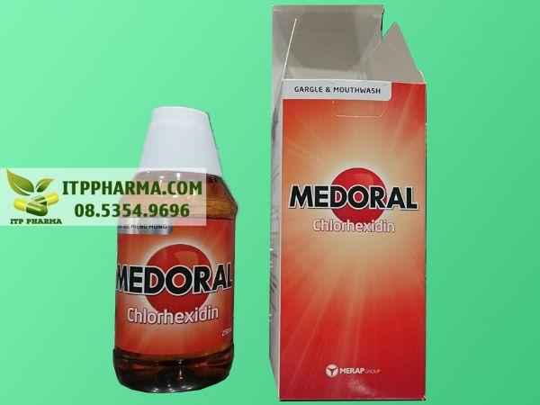 Hình ảnh thuốc súc miệng Medoral chính hãng