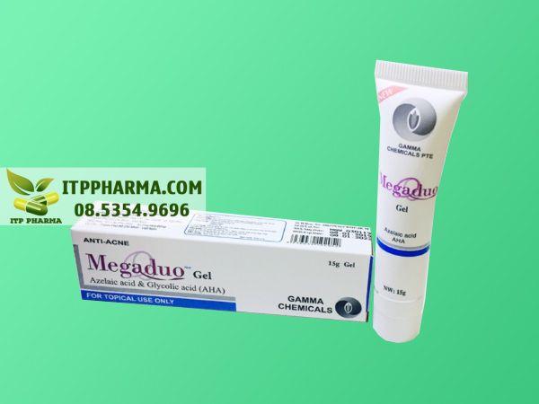 Hình ảnh Megaduo giúp điều trị mụn