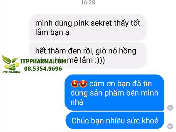 Phản hồi từ người sử dụng Pink Sekret
