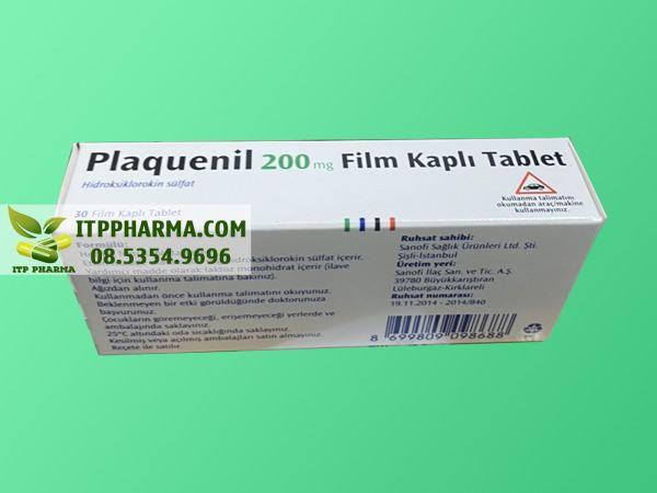 Thuốc Plaquenil 200mg Hydroxychloroquine chính hãng