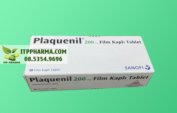 Thuốc Plaquenil 200mg Hydroxychloroquine được chụp bởi ITP Pharma