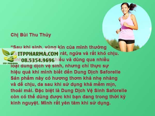 Review Dung Dịch Saforelle từ người dùng
