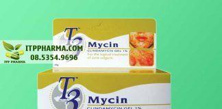 Thuốc trị mụn: T3 Mycin