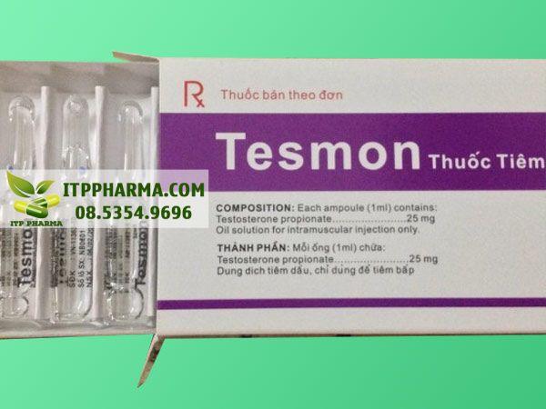 Thuốc Tesmon được sử dụng bằng đường tiêm