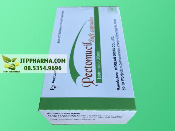 Thuốc Pectomucil dành cho người bị mụn