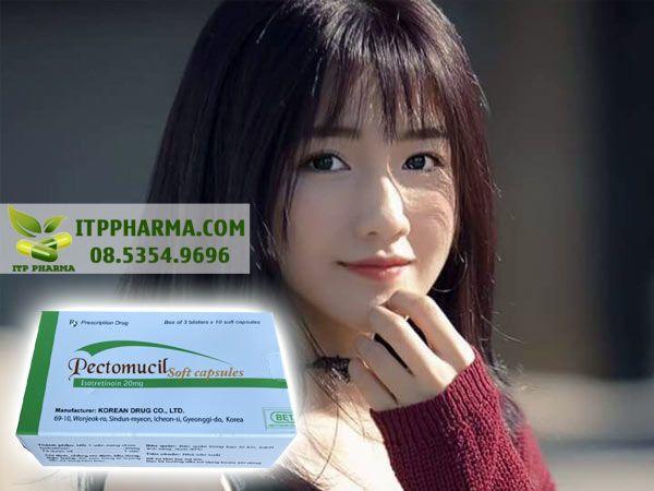 Thuốc Pectomucil giúp làn da của bạn trở nên mịn màng hơn