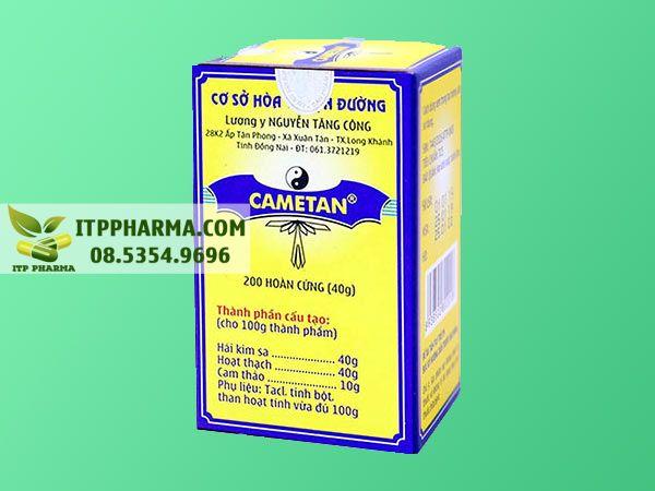 Thuốc trị sỏi thận Cametan