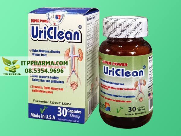 Thuốc trị sỏi thận Super power Uriclean
