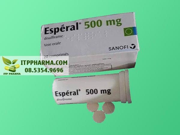 Thuốc Esperal dành cho người nghiện rượu