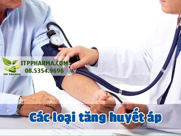 Các loại tăng huyết áp