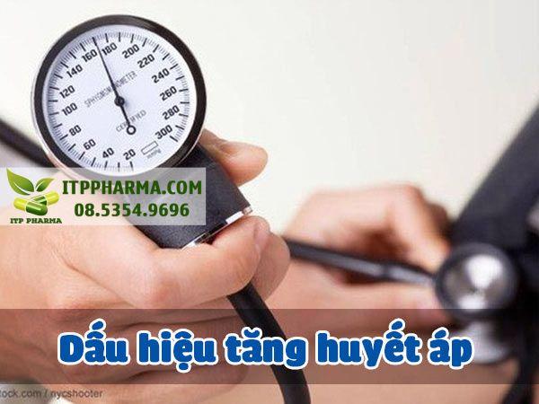 Dấu hiệu tăng huyết áp