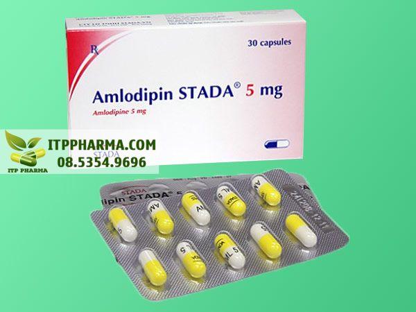 Thuốc điều trị tăng huyết áp Amlodipine