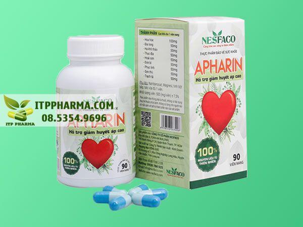 Thuốc điều trị tăng huyết áp Apharin