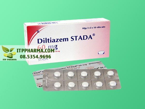 Thuốc điều trị tăng huyết áp Diltiazem