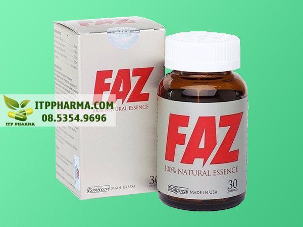 Thuốc điều trị tăng huyết áp Faz