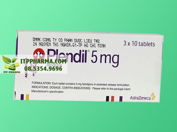 Thuốc điều trị tăng huyết áp Felodipine