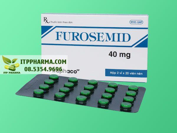 Thuốc điều trị tăng huyết áp Furosemid