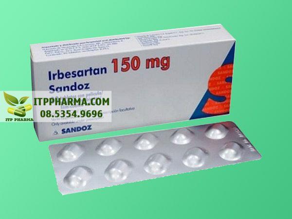 Thuốc điều trị tăng huyết áp Irbesartan
