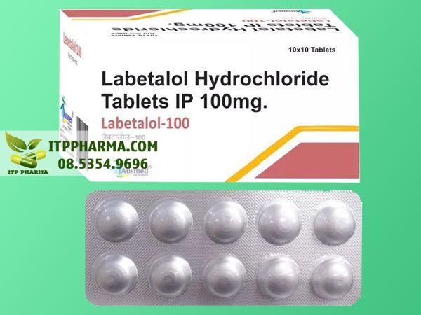 Thuốc điều trị tăng huyết áp Labetalol