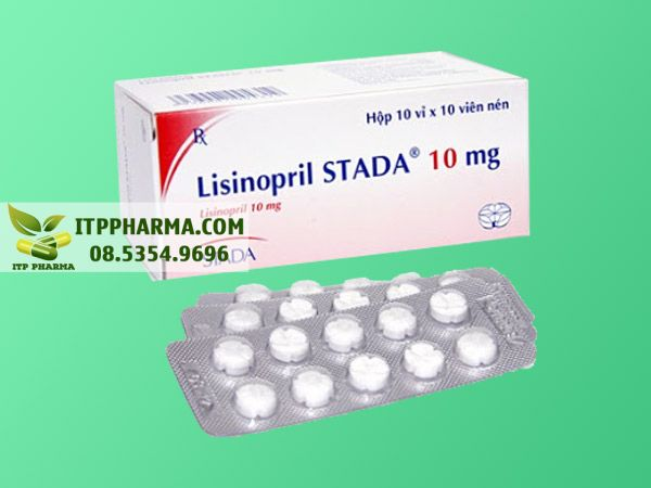Thuốc điều trị tăng huyết áp Lisinopril
