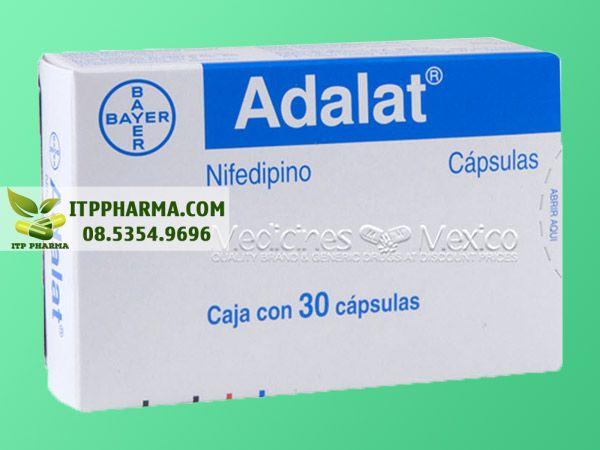 Thuốc điều trị tăng huyết áp Nifedipine