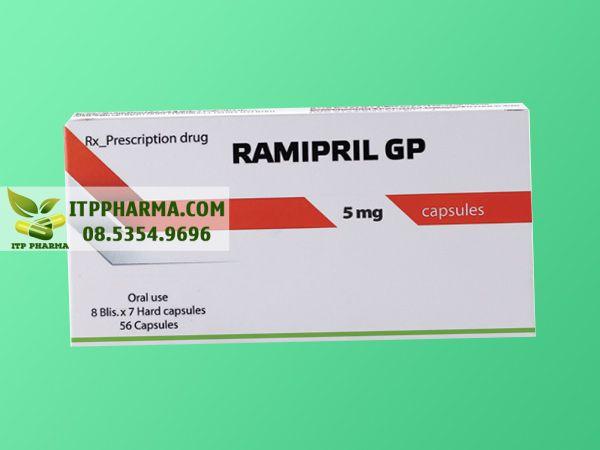 Thuốc điều trị tăng huyết áp Ramipril