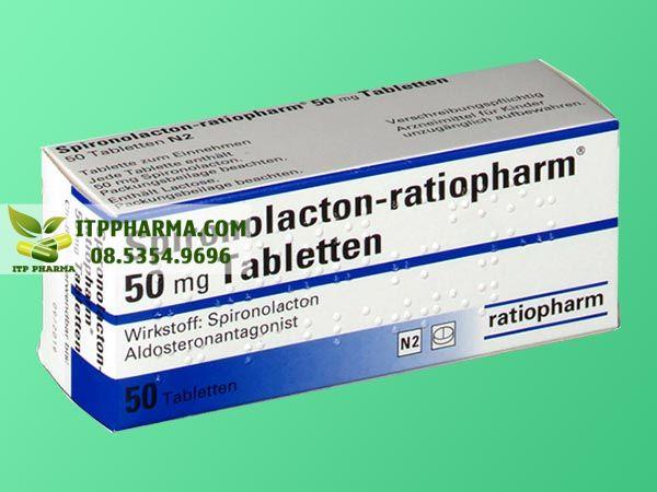 Thuốc điều trị tăng huyết áp Spironolacton