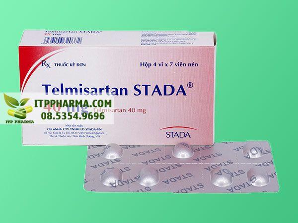 Thuốc điều trị tăng huyết áp Telmisartan