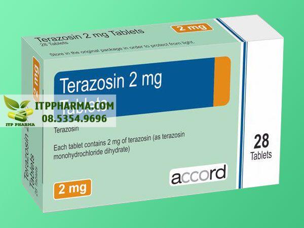 Thuốc điều trị tăng huyết áp Terazosin