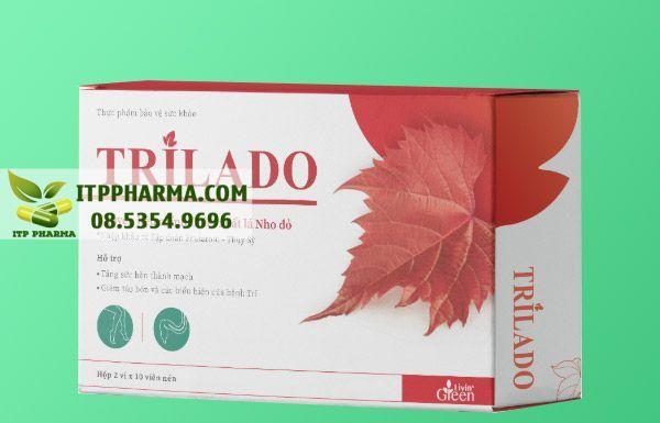 Thuốc Trilado dành cho người bệnh trĩ