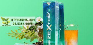 Viên sủi Zextor giúp tăng cường sinh lý nam giới