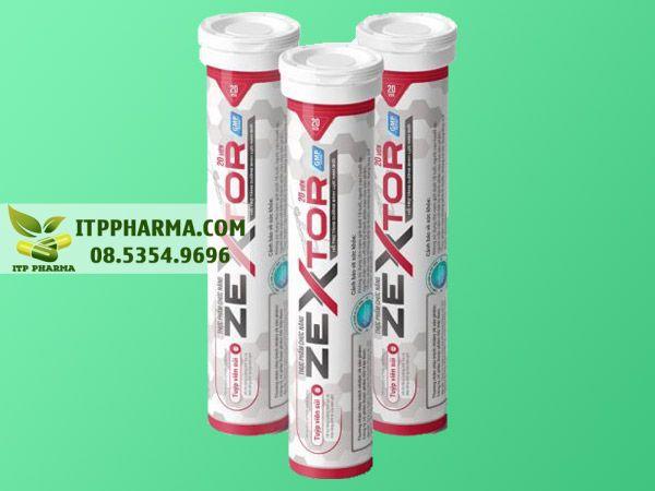 Hình ảnh Viên sủi Zextor giúp tăng cường sức khỏe sinh sản