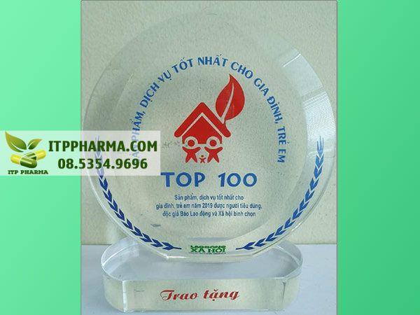 Bổ Phế Mộc Thanh được bình chọn trong top 100 sản phẩm tốt nhất cho gia đình