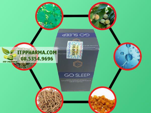 Gosleep được bào chế từ thành phần tự nhiên