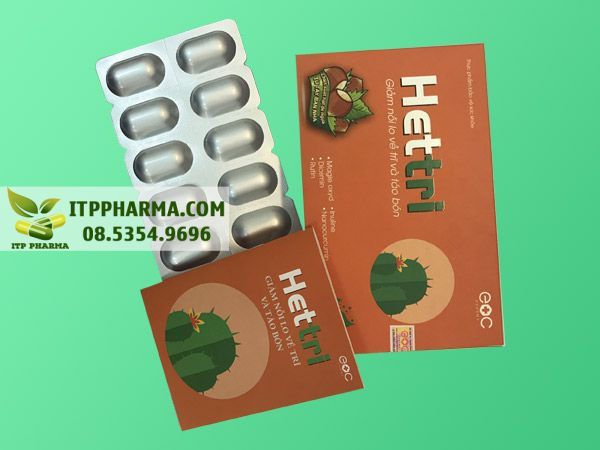 Hình ảnh Hettri giúp hỗ trợ điều trị bệnh trĩ