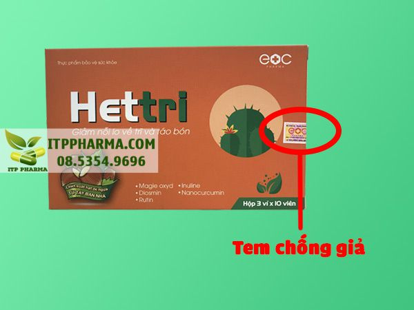 Tem chống giả sản phẩm Hettri