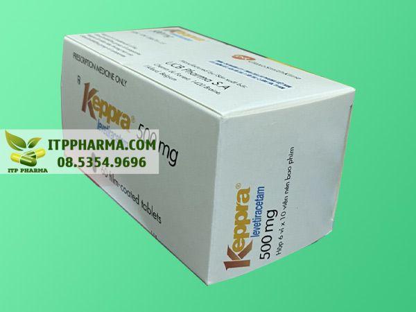 Keppra giúp chống động kinh co giật hiệu quả