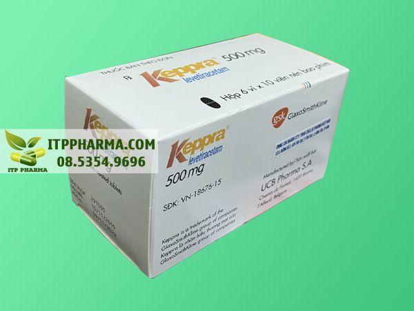 HÌnh ảnh thuốc chống động kinh Keppra