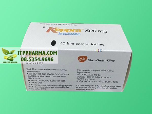 HÌnh ảnh Keppra được bán tại nhiều nhà thuốc