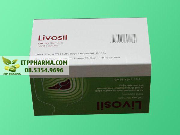 Hình ảnh Livosil mặt dưới