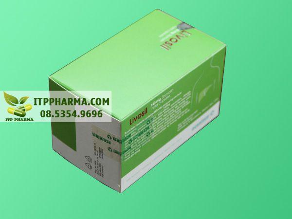Hình ảnh thuốc Livosil giúp điều trị bệnh gan