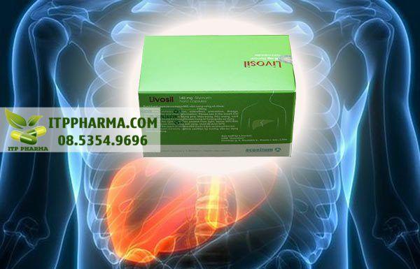 Hình ảnh thuốc Livosil