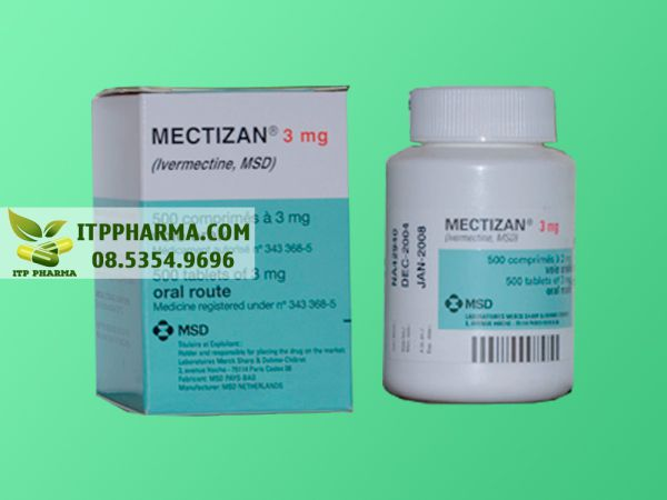 Hình ảnh Mectizan chứa hoạt chất Ivermectin