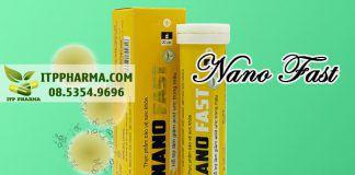 Viên uống Nano Fast dành cho người bệnh gout